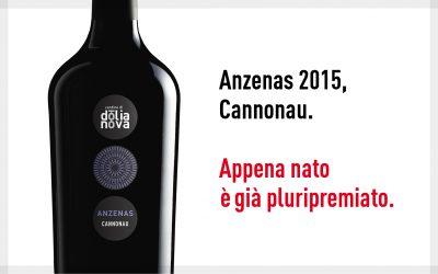 ANZENAS Cannonau di Sardegna Doc 2015 premiato al Concorso 5StarWines 2017