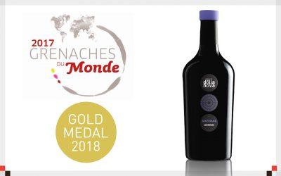 ANZENAS 2015 Medaglia d'Oro al Grenaches du Monde 2018