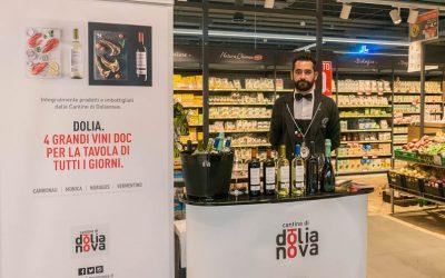 Il tour di presentazione della linea Dolia arriva anche nel tuo supermercato di fiducia.