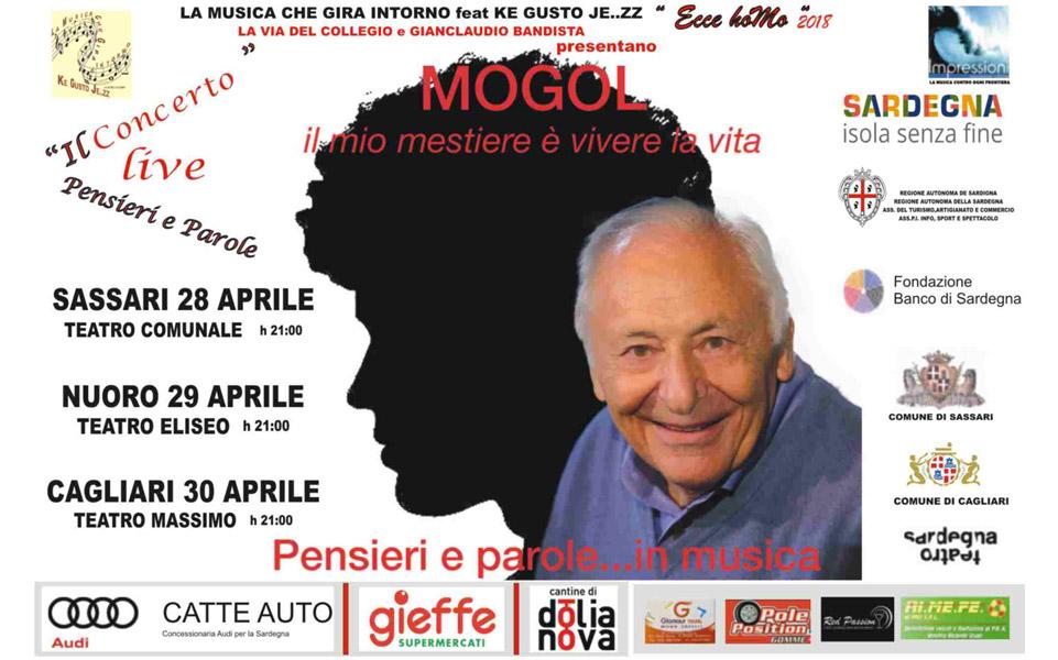 Cantine di Dolianova sponsor dei concerti di Mogol in Sardegna.