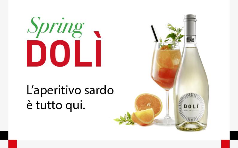 Spring Dolì. Ecco il cocktail firmato Cantine di Dolianova per l'estate 2018.