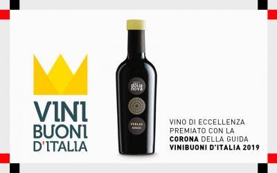 Vini Buoni d'Italia: Nuragus di Cagliari Doc Perlas 2017 si aggiudica la Corona