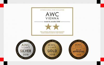 AWC Vienna 2018: sette prestigiose medaglie per Cantine di Dolianova
