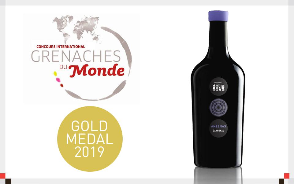Anzenas 2016: Medaglia d'oro al Grenache du Monde