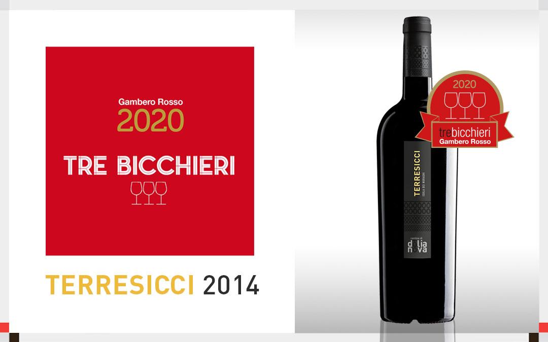 I Tre Bicchieri premiano il nostro Terresicci 2014