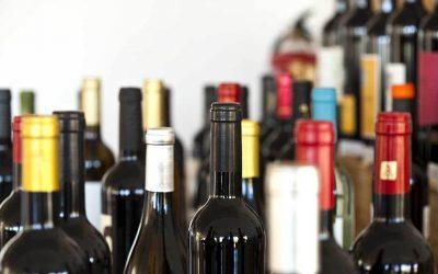 I tipi di bottiglie di vino