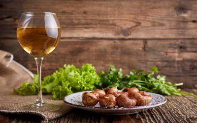 Abbinamento vino e lumache alla bourguignonne