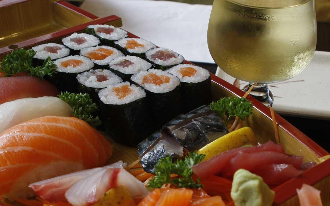Abbinamento vino con il sushi