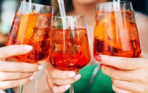 Come fare lo Spritz con il vino rosso