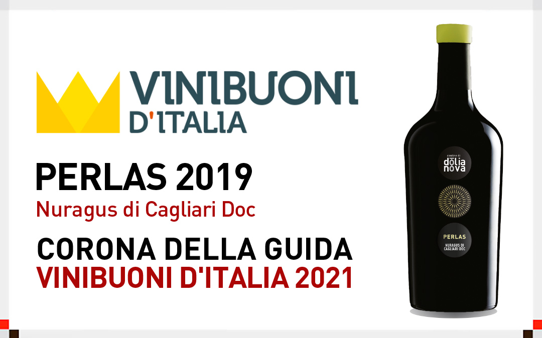 "Vinibuoni ""incorona"" il Nuragus Doc Perlas 2019"