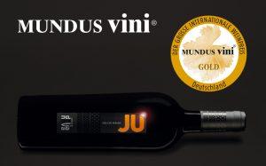Mundus Vini 2020 premia Jù con Grand Gold Medal e Best of Show Sardinia