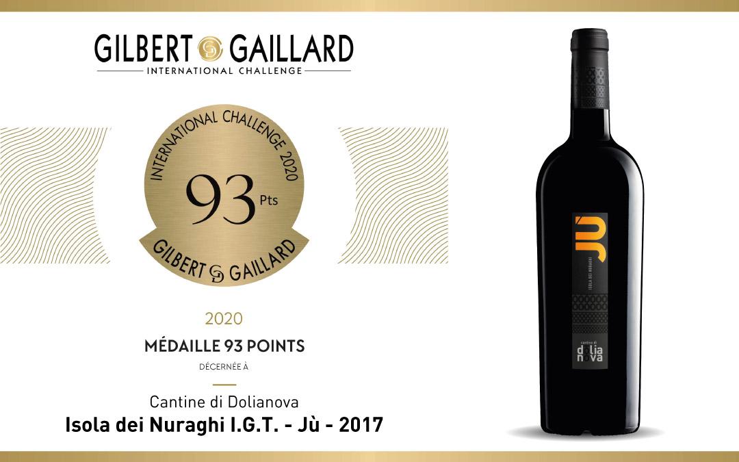 Medaglia per Jù all'International Challenge Gilbert et Gaillard