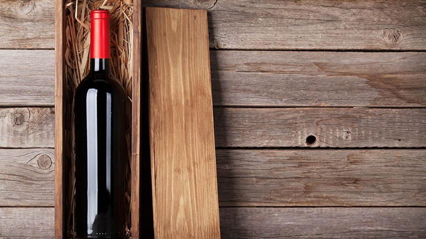 Come riciclare le scatole di legno del vino