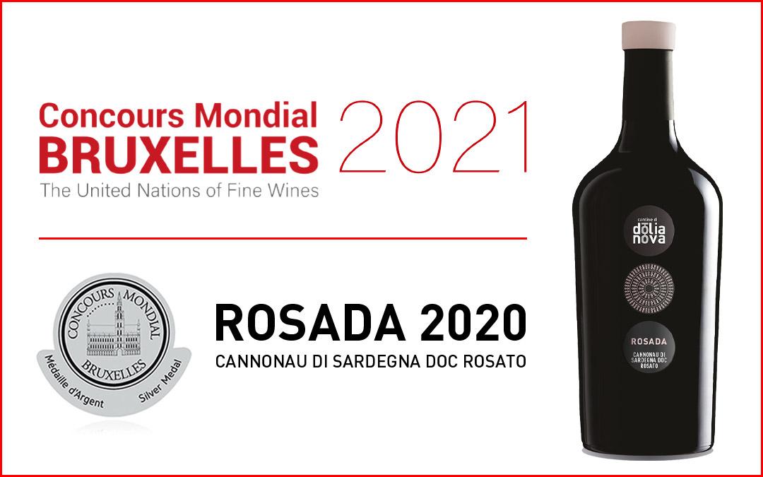 Concours Mondial Bruxelles. Il nostro Rosada premiato fra le eccellenzedel mondo.