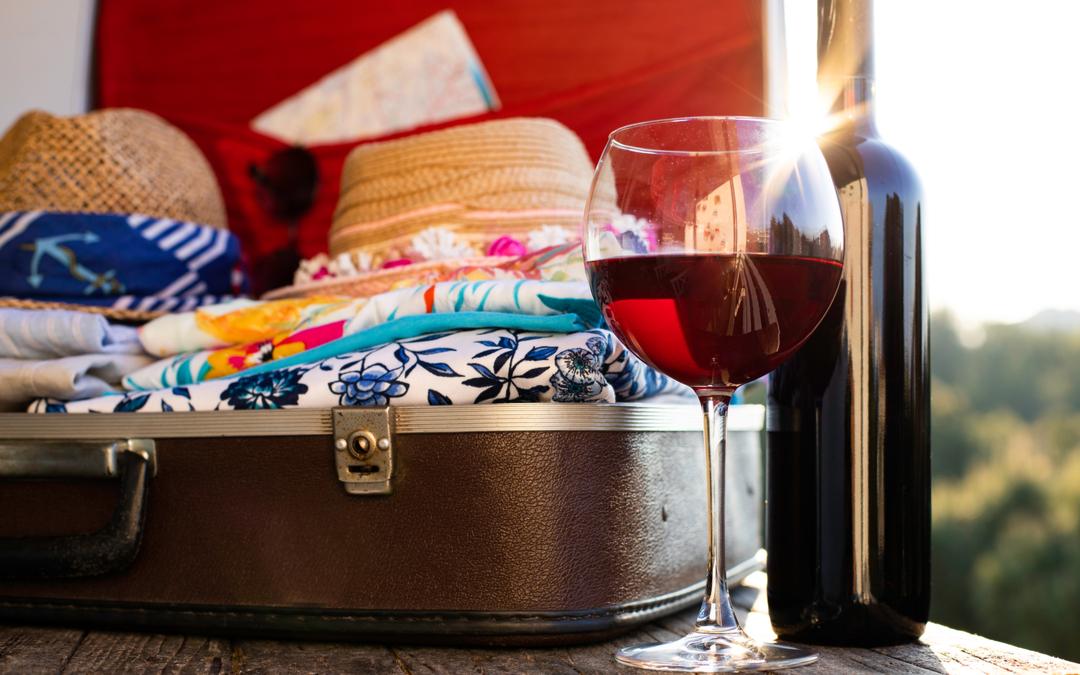 Come trasportare le bottiglie di vino in aereo