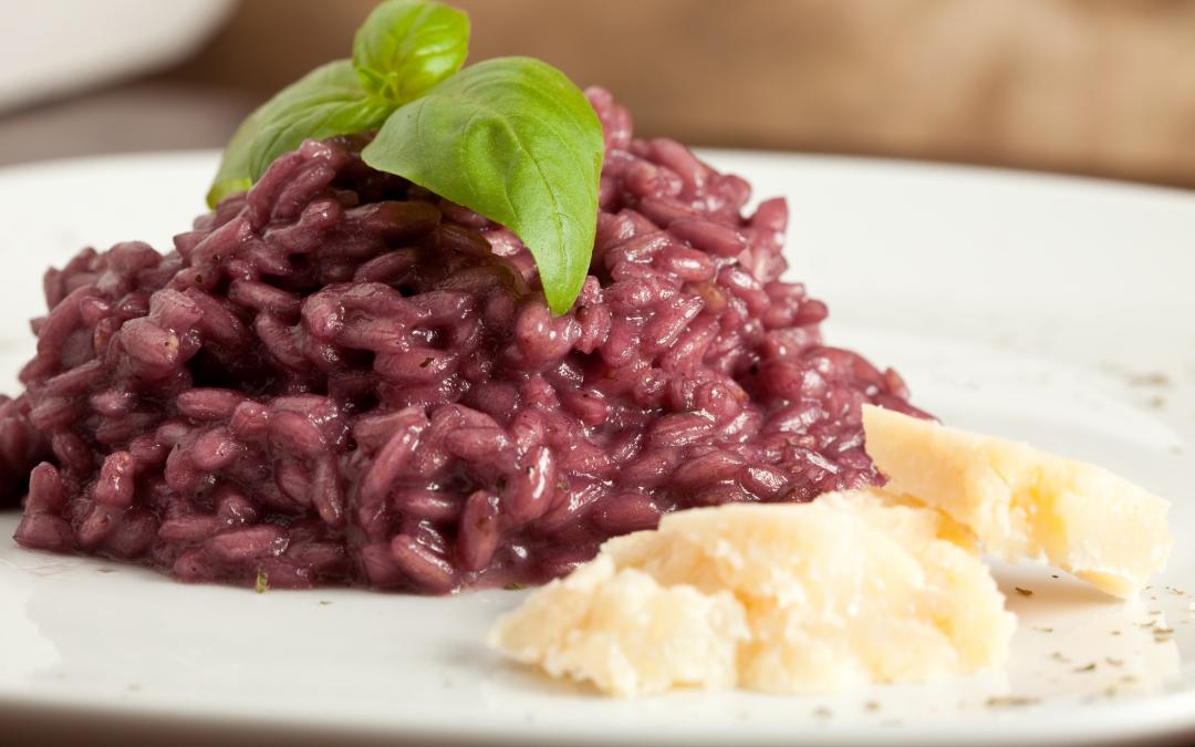 ricetta risotto al vino rosso, ingredienti